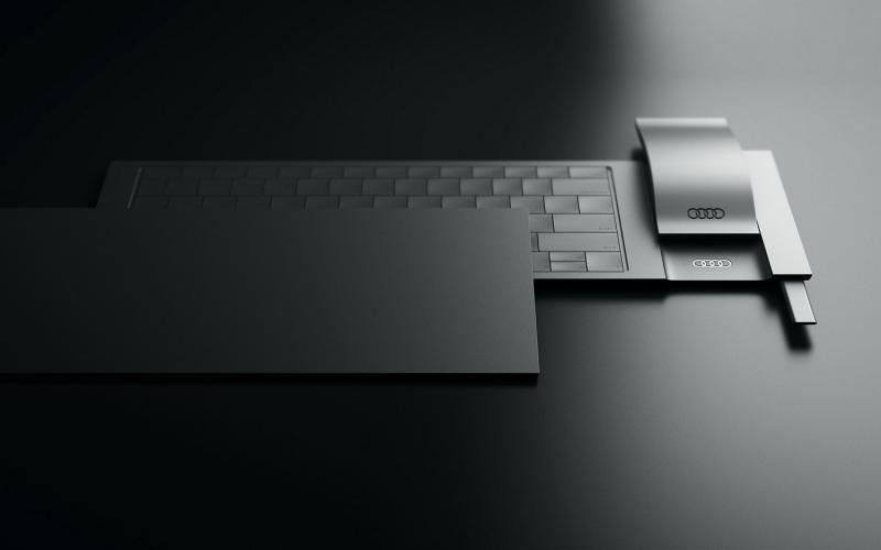 Audi Layer 4in1 Input Device - eine elegante Tastatur