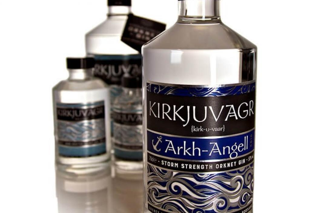 ORKNEY KIRKJUVAGR ARKH-ANGELL GIN - limited Edition