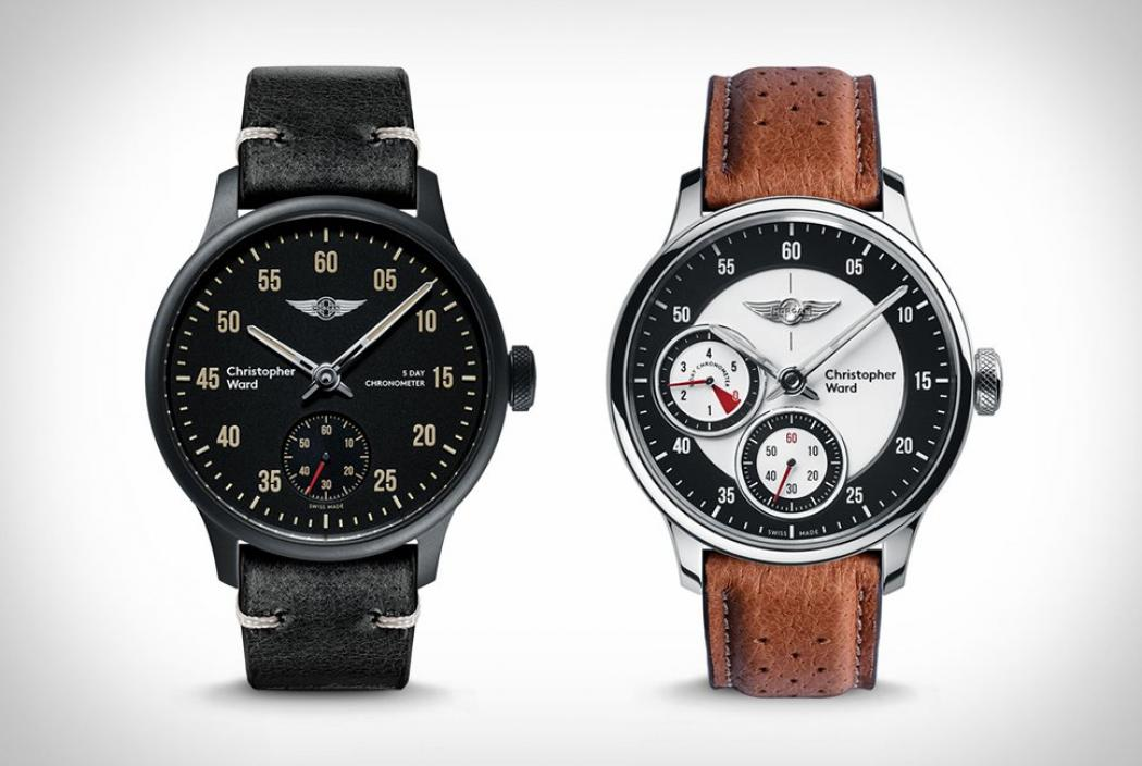 Christopher Ward x Morgan Uhrenkollektion