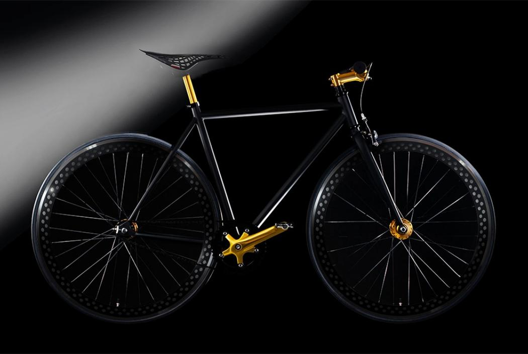 Golden Cycle - ein cooles goldenes Fahrrad