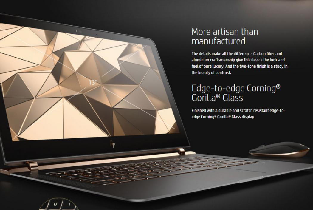 HP Spectre - The sexiest laptop ever created