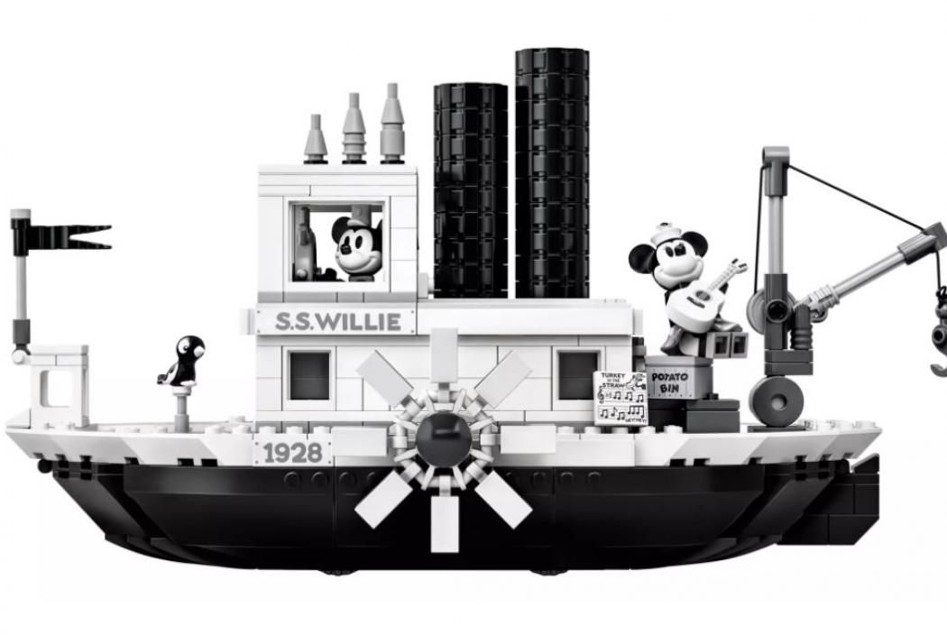 Lego Dampfer Willie - Mickey Mouse 1928