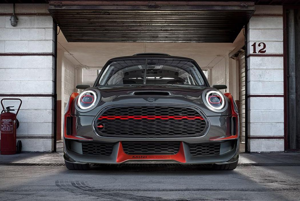 mini john cooper works gp concept das tuning monstrum. Black Bedroom Furniture Sets. Home Design Ideas