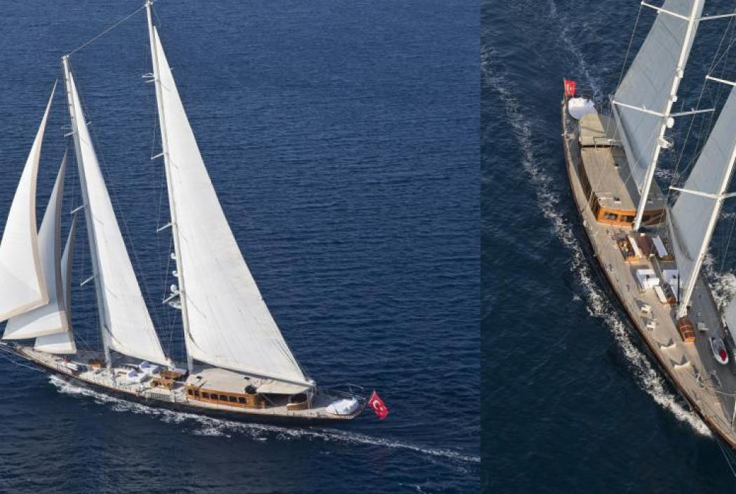 Regina Segel Yacht - James Bond - Skyfall