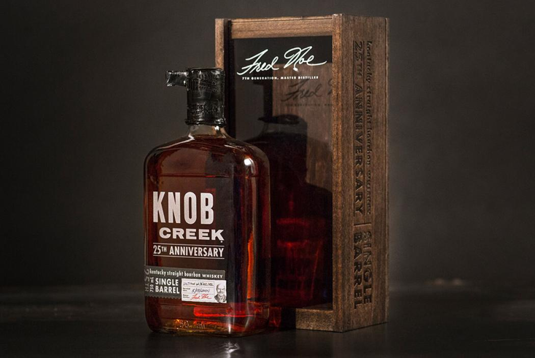 KNOB CREEK SINGLE BARREL BOURBON - 25.Jubilaeum