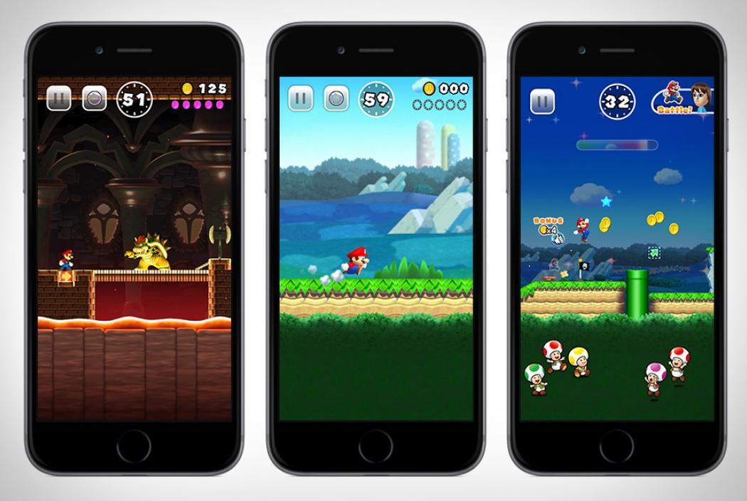 Super Mario Run - for Iphone