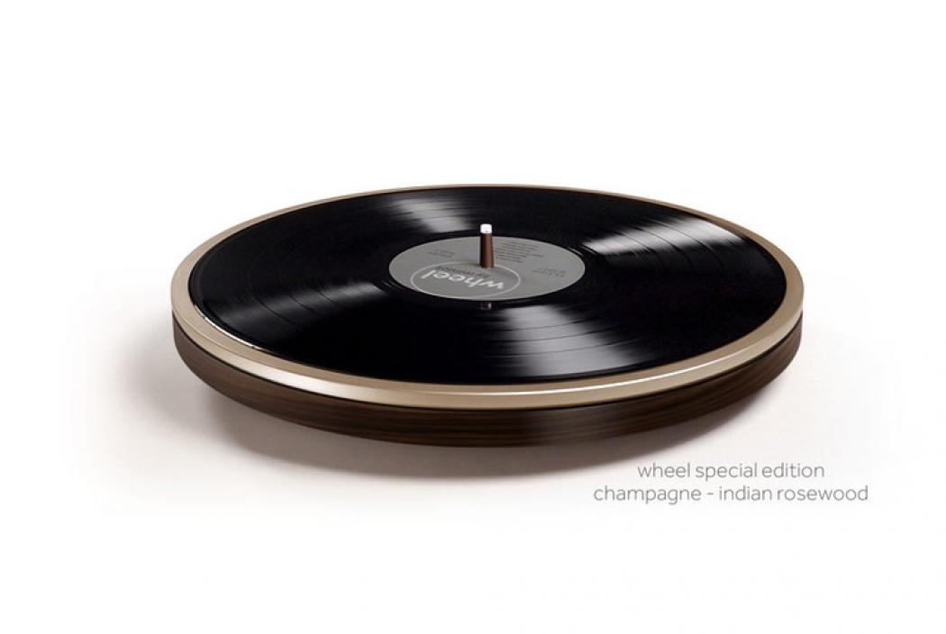 Wheel Turntable by Miniot