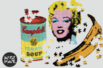 Andy Warhol 3er-Puzzle-Set