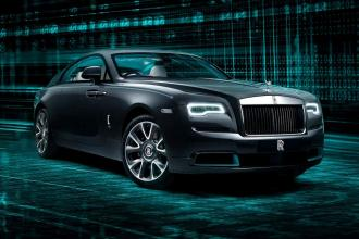 Rolls-Royce Wraith Kryptos Collection Coupe